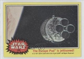 The Escape Pod is jettisoned (Trading Card) 1977 Star Wars #155 Entertainment Collectibles
