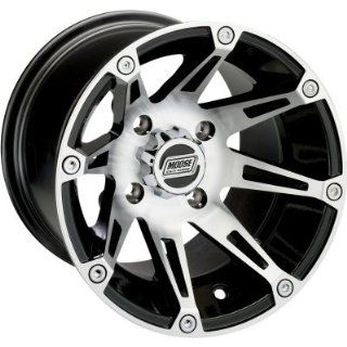 Moose Type 387X Front Wheel   12x7   4+3   4/156   Machined   Black 387MO127156BW4 2002 Polaris Magnum 500 2x4, 2002 2003 Polaris Magnum 500 4x4, 2010 2011 Polaris Ranger 4x4 400, 2003 2007 Polaris Ranger 4x4 500, 2006 2011 Polaris Ranger 4x4 500 EFI, 2007