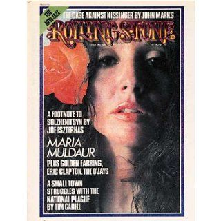 Rolling Stone Magazine # 166 August 1 1974 Maria Muldaur (Single Back Issue) Rolling Stone Books