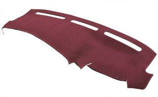 DashMat Original Dashboard Cover Chevrolet and GMC (Premium Carpet, Red) Automotive