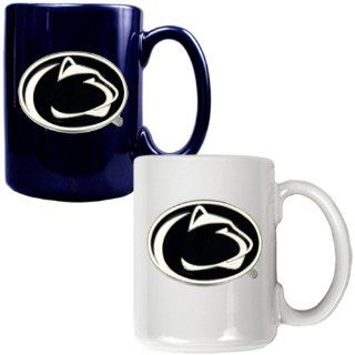 BSS   Penn State Nittany Lions NCAA 2pc Ceramic Mug Set   Primary Logo