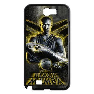 NBA Black Mamba Kobe Bryant superstar SAMSUNG GALAXY NOTE 2 N7100 Best Durable Plastic Case Electronics