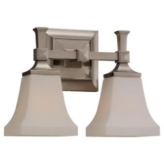 Sea Gull Lighting Melody 2 Light Brushed Nickel Vanity Fixture 44706 962