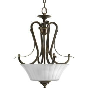 Progress Lighting Melody Collection Oil Rubbed Bronze 2 light Foyer Pendant DISCONTINUED P3844 108