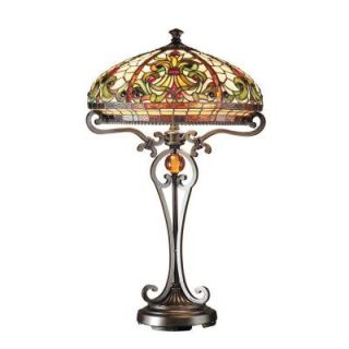 Dale Tiffany 28 in. Boehme Antique Golden Sand Table Lamp TT101114