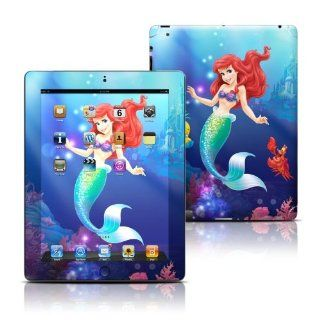 Little Mermaid Design Protective Decal Skin Sticker for Apple iPad 3 (3rd Gen) Tablet E Reader Computers & Accessories