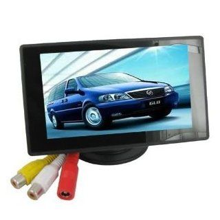 4.3'' Color TFT Car Monitor Support 480 X 272 Resolution + Car/automobile Rear view System Mirror Display Monitor  Vehicle Video Products