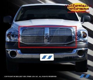2006 2007 Dodge Ram 304 Stainless Steel Chrome Plated Billet Grill Grille Automotive