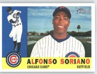 Alfonso Soriano   Chicago Cubs   2009 Topps Heritage Card # 305   MLB Trading Card Sports Collectibles