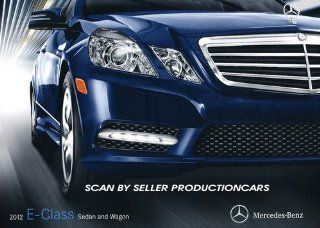 2012 Mercedes Benz E Class 28 page Sales Brochure Catalog   E350 E550 Bluetec