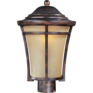 Filament Design Infinite 1 Light Outdoor Copper Oxide Incandescent Post Lantern HD MA43139843