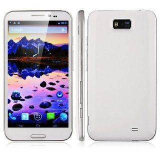 BW� CAESAR A9800 Smart Phone MTK6589 Quad Core 5.7 Inch IPS HD Screen Android 4.1 1G RAM White Cell Phones & Accessories