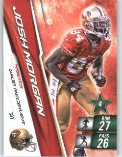 2010 Panini Adrenalyn XL NFL Trading Card #331 Josh Morgan   San Francisco 49ers   NFL Trading Card Sports Collectibles