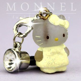 ip321 Cute Hello Kitty 3D Charm Anti Dust Plug Cover for iPhone Cell Phone Cell Phones & Accessories