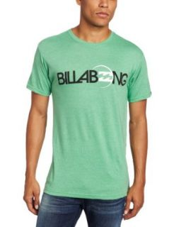 Billabong Men's Eclipse Crew Short Sleeve, Naval Heather, Small Clothing
