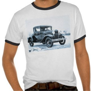 1930 Ford Model A Coupe   Vintage Shirt