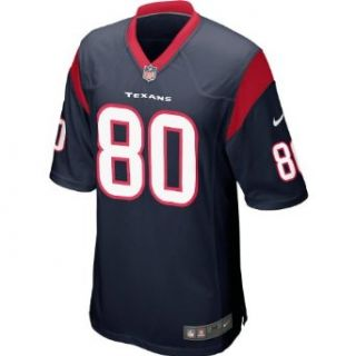 NIKE Youth Houston Texans Andre Johnson #80 Game Team Color Jersey   Size Me Clothing