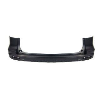 CarPartsDepot, Black Primed Plastic Rear Bumper Upper Cover Replacement, 352 202107 20 PM HO1100263 04715SWAA80ZZ Automotive