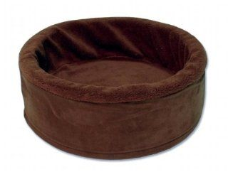 Petmate 27897 17 Inch Round Pet Bed Pet Bed & Bedding   Dog Houses