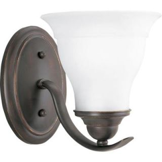 Progress Lighting Trinity Collection 1 Light Antique Bronze Bath Light P3190 20