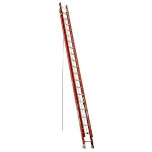 Werner 40 ft. Fiberglass D Rung Extension Ladder with 300 lb. Load Capacity Type IA Duty Rating D6240 2