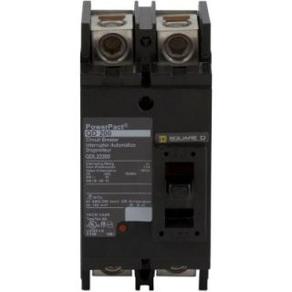 Square D by Schneider Electric QO 200 Amp Q Frame 22k AIR Two Pole Circuit Breaker QDL22200