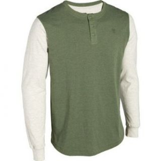 Matix Men's Coopers Henley Shirt, Heather Army, Large at  Men�s Clothing store
