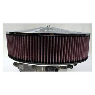 Nashfuel Dual 425 Air Cleaner Filter Heavy Duty Aluminum Mount High Flow K&N Holley