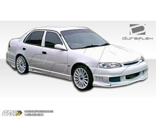 1998 2000 Toyota Corolla Duraflex Bomber Body Kit   4 Piece   Includes Bomber Front Bumper Cover (102031) Bomber Rear Bumper Cover (102032) Bomber Side Skirts Rocker Panels (102033) Automotive
