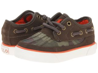 Polo Ralph Lauren Kids Parkstone Low FA13 Boys Shoes (Olive)