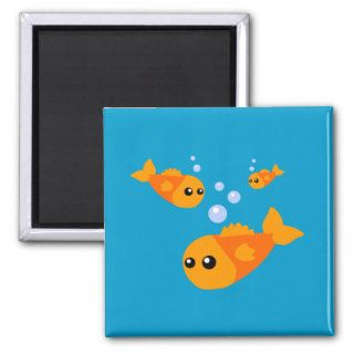 Cute Fish Fridge Magnet