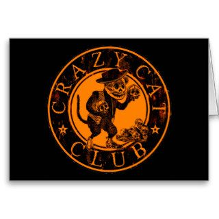 Crazy Cat Club Greeting Cards