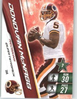 2010 Panini Adrenalyn XL NFL Football Trading Card # 394 Donovan McNabb   Washington Redskins in Protective Screwdown Case Sports Collectibles