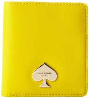 kate spade new york Cobblestone Park Small Stacy Wallet,Graffiti Yellow,One Size Shoes
