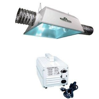 Hydrofarm 1000 Watt HPS Radiant 6AC Economy Grow Light System and PH Control Kit Bundle Pack  Plant Growing Lamps  Patio, Lawn & Garden