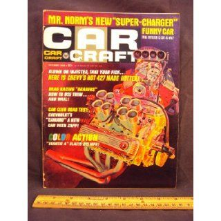 1966 66 December CAR CRAFT Magazine, Volume 14 Number # 8 (Features The Man From Mercury / Nifty Shifter / Mountain Cub, Triumph 200cc Trail Bike / 427 Chevy Even Hotter) Car Craft Books