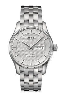 Mido M0014311103192 Watch Belluna Mens M001.431.11.031.92 Silver Dial Stainless Steel Case Automatic Movement Watches