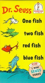 Dr. Seuss   One Fish, Two Fish, Red Fish, Blue Fish Movies & TV