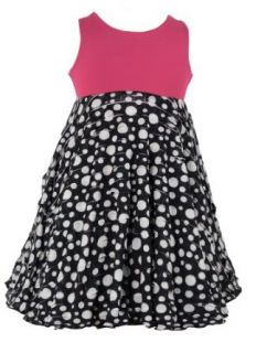 Spinning Tales In The Park Twirly Dress   XS 2/3 Black White Polka Dot Clothing