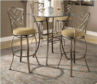 Brookside Bar Height Bistro Table 3 Piece Set w/ Hanover Chairs   Dining Room Furniture Sets