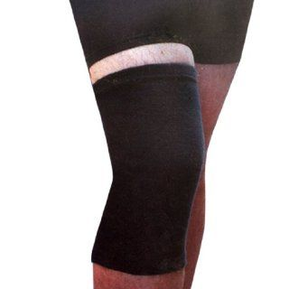Como Athletic Stretchy Knee Sleeve Black Support Brace 2 Pcs Sports & Outdoors