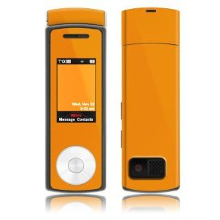 Solid State Orange Design Protective Skin Decal Sticker for Samsung Juke SCH U470 Cell Phone Electronics