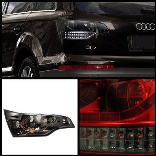 Audi Q7 2007 2009 LED Tail Lights   Black Automotive