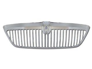 Chrome Horizontal Front Hood Bumper Grill Grille Abs Lincoln Navigator Automotive
