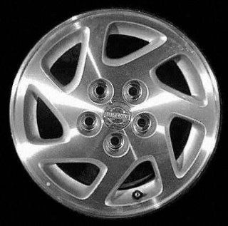 95 99 NISSAN MAXIMA ALLOY WHEEL RIM 15 INCH, Diameter 15, Width 6.5 (7 SPOKE, SE), ARGENT, 1 Piece Only, Remanufactured (1995 95 1996 96 1997 97 1998 98 1999 99) ALY62319U15 Automotive