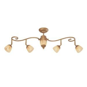 Eurofase Astoria Collection 5 Light Antique Gold Track 16260 016