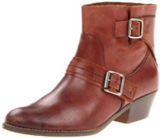 Kenneth Cole REACTION Women's Love Tale Ankle Boot,Cognac,10 M US Shoes