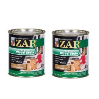 UGL ZAR 117 1 qt. Honey Maple Wood Stain (2 Pack) 209075