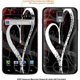 Protective Decal Skin Sticker for Samsung Galaxy S II Skyrocket (AT&T Model) case cover Skyrocket 489 Cell Phones & Accessories