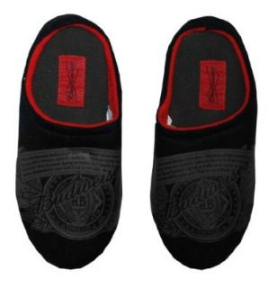 Budweiser Logo Label Beer Alcohol Mens Slippers Select Shoe Size 10/11 Shoes